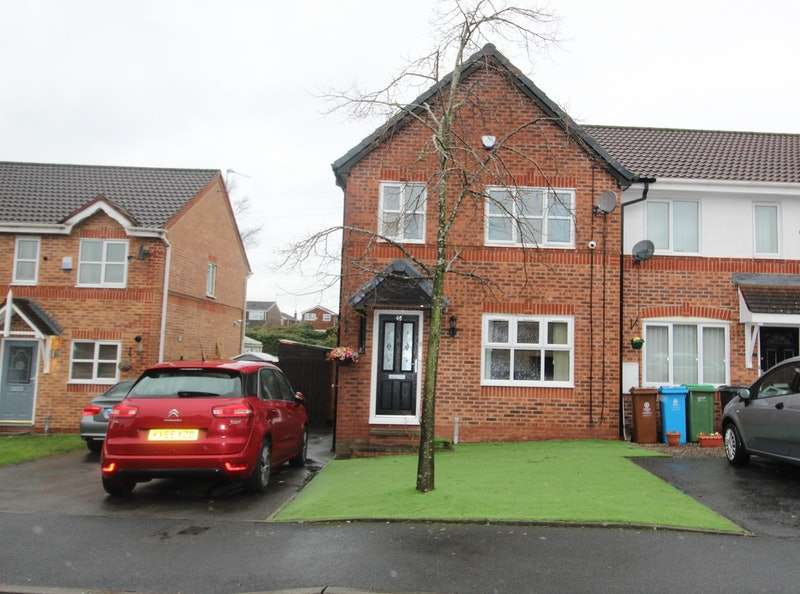 3 Bedrooms Town House for sale in Canisp Close, Oldham, Greater Manchester, OL9