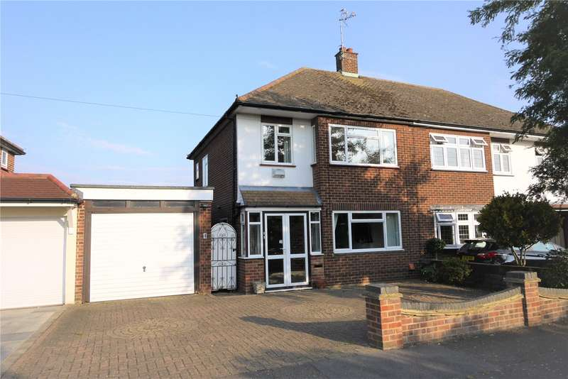 3 Bedrooms Semi Detached House for sale in Witham Gardens, West Horndon, Brentwood, Essex, CM13