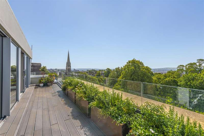 4 Bedrooms Penthouse Flat for sale in Harley Place, Clifton, Bristol, BS8