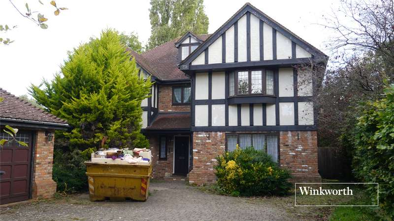 5 Bedrooms Detached House for sale in Lynford Close, Arkley, Herts, EN5