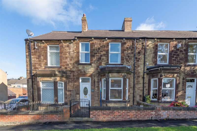 3 Bedrooms Terraced House for sale in Villa Real Road, Consett, DH8 6BL