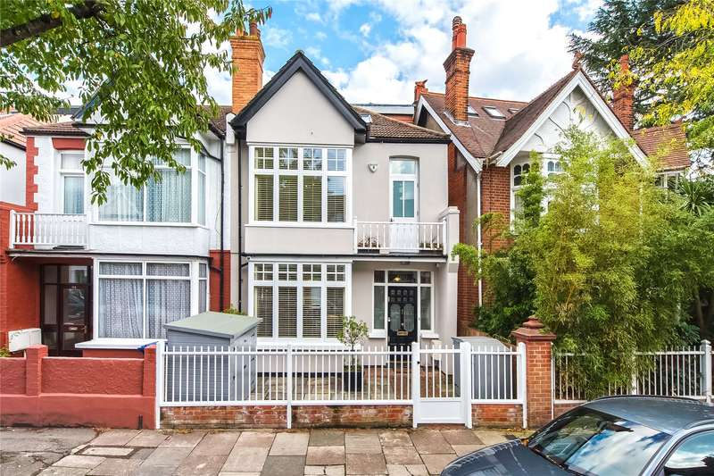 4 Bedrooms Semi Detached House for sale in Rusthall Avenue, London, W4