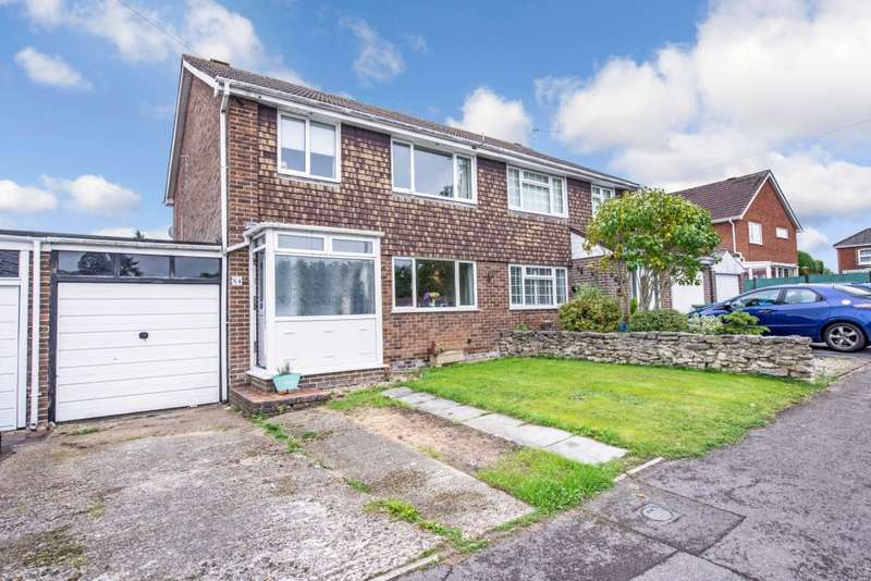 3 Bedrooms Semi Detached House for sale in Bentham Way, Lower Swanwick, Southampton, SO31