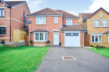 4 Bedrooms Detached House for sale in Roods Close, Sutton-In-Ashfield, Nottinghamshire, Notts