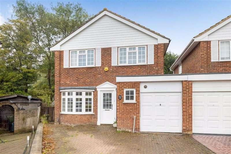 4 Bedrooms Link Detached House for sale in Partridge Drive, Locksbottom, Kent