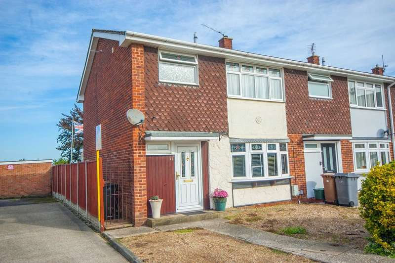 3 Bedrooms End Of Terrace House for sale in Meon Close, Old Springfield, Chelmsford, CM1