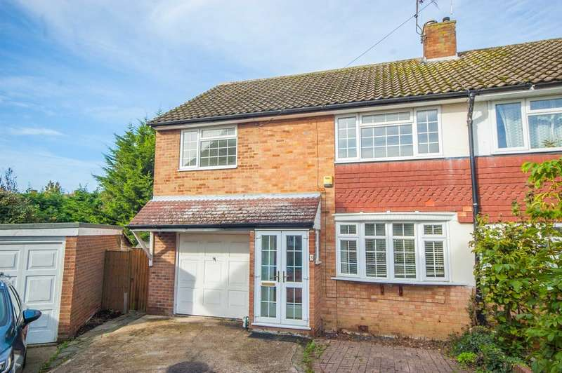 4 Bedrooms Semi Detached House for sale in Capel Close, Broomfield, Chelmsford, CM1