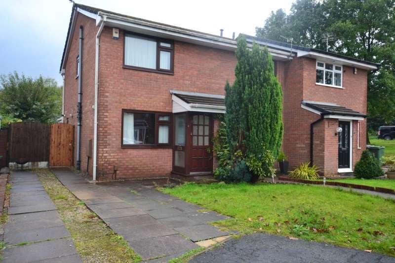 2 Bedrooms Semi Detached House for sale in Burnvale, Winstanley, Wigan, WN3 6TZ