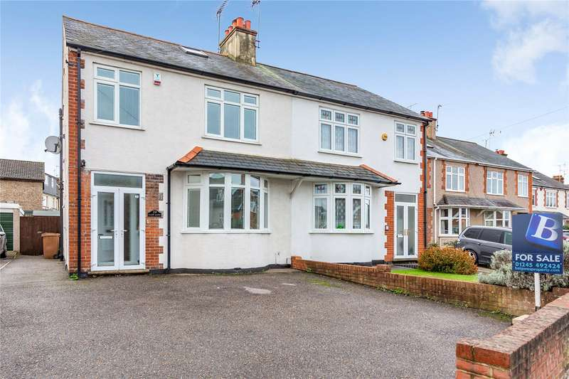 4 Bedrooms Semi Detached House for sale in Lady Lane, Chelmsford, Essex, CM2