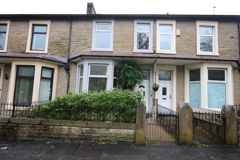 3 Bedrooms Terraced House for sale in Queens Road, Queens Park Area, Blackburn