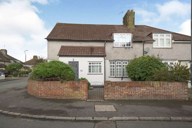 4 Bedrooms Semi Detached House for sale in Heath Way, Erith, DA8