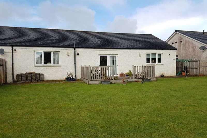 3 Bedrooms Semi Detached Bungalow for sale in Huntlybank Lane, Ravenstruther, Lanark, ML11