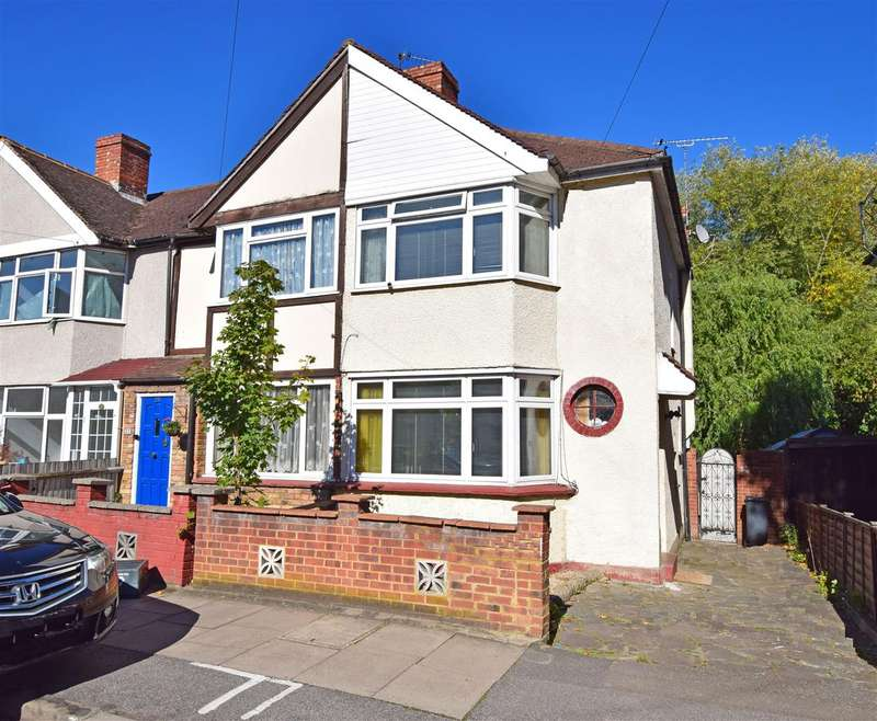 2 Bedrooms End Of Terrace House for sale in Saxon Avenue, Feltham