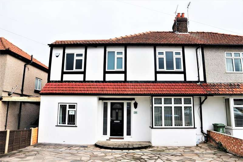 4 Bedrooms Semi Detached House for sale in Barnehurst Road, Barnehurst , Kent, DA7