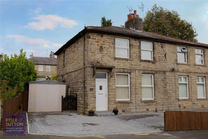 3 Bedrooms Semi Detached House for sale in Barnes Avenue, Rawtenstall, Rossendale, BB4
