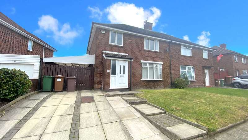 4 Bedrooms Semi Detached House for rent in Hawes Avenue, St Helens