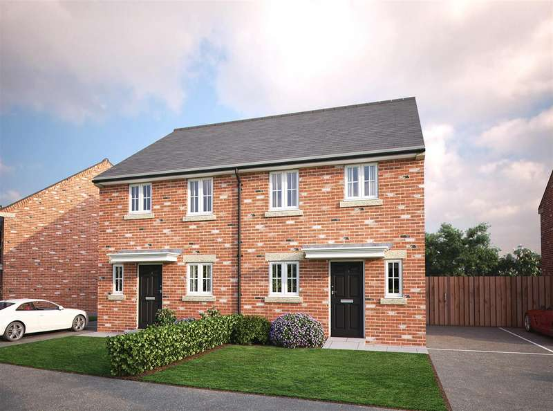 3 Bedrooms Semi Detached House for sale in Plot 101 - 7 Springfield Drive, Warton