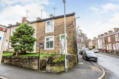 3 Bedrooms End Of Terrace House for sale in Hallam Road, Nelson, Lancashire, BB9