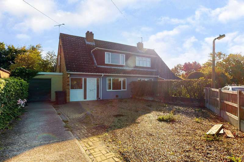 3 Bedrooms Semi Detached House for sale in Westfield Drive, Coggeshall