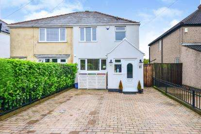 3 Bedrooms Semi Detached House for sale in Tibshelf Road, Sutton-In-Ashfield, Nottinghamshire, Notts