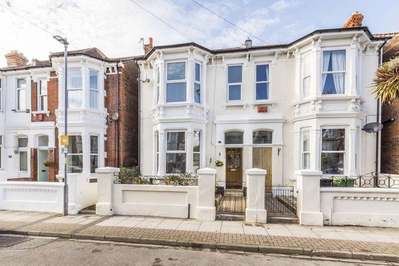 4 Bedrooms Semi Detached House for sale in Taswell Road, Southsea, PO5