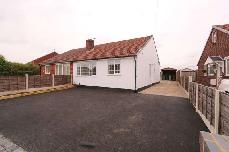 2 Bedrooms Semi Detached Bungalow for sale in Leaford Avenue, Denton, Manchester, M34