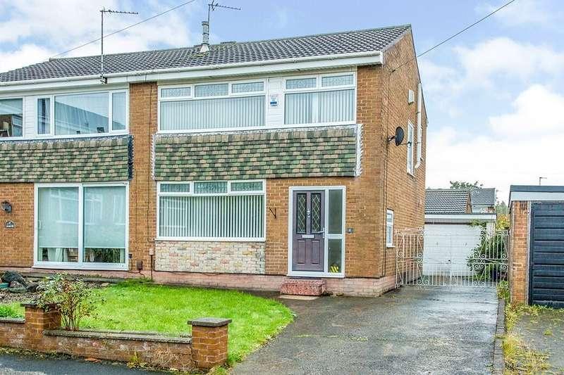 3 Bedrooms Semi Detached House for rent in Greengate, Fulwood, Preston, PR2