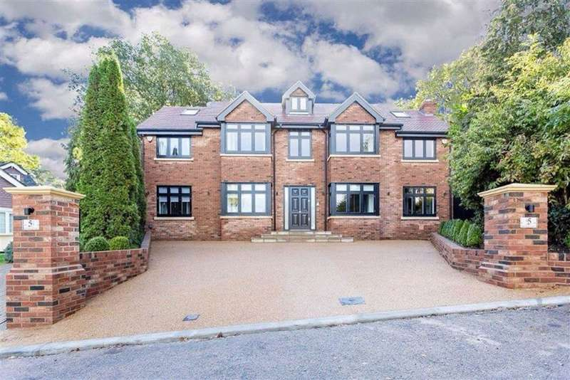5 Bedrooms Detached House for sale in Orchard Close, Cuffley