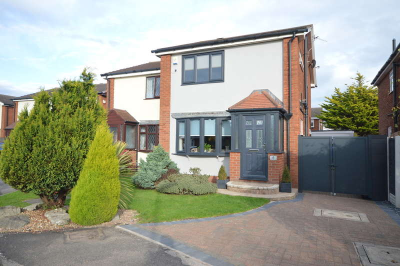 3 Bedrooms Semi Detached House for sale in Carterville Close, Marton