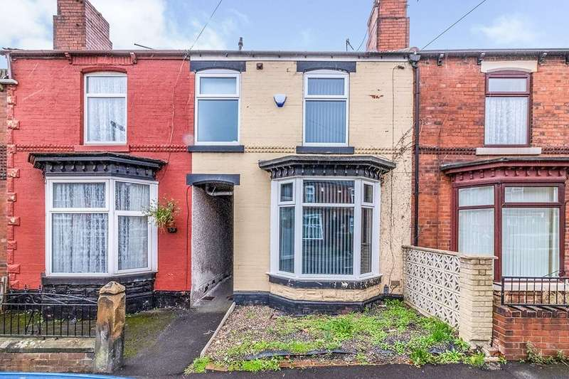 2 Bedrooms Terraced House for rent in Deepdale Road, Rotherham, S61