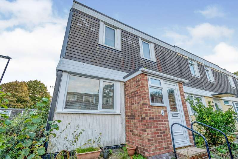 2 Bedrooms End Of Terrace House for sale in Falaise Close, Southampton, Hampshire, SO16