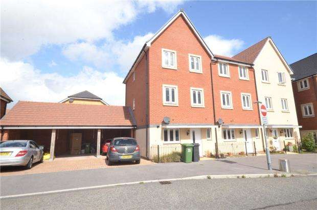 4 Bedrooms End Of Terrace House for sale in Trinity Way, Basingstoke, Hampshire