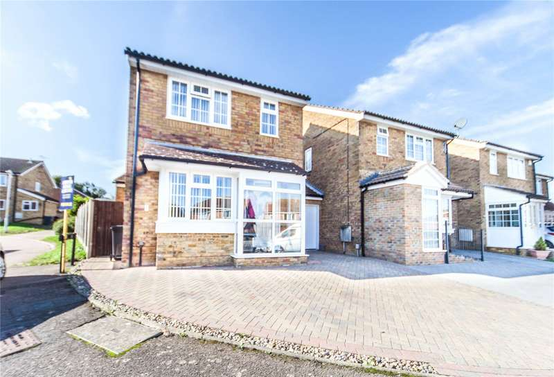 3 Bedrooms Detached House for sale in Filborough Way, Chalk, Kent, DA12