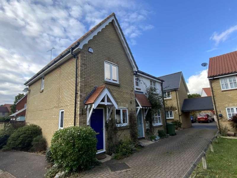 2 Bedrooms End Of Terrace House for sale in Thistle Close, Noak Bridge
