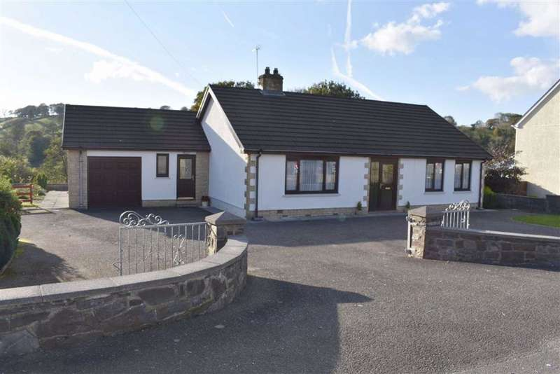2 Bedrooms Detached Bungalow for sale in Pontsian, Llandysul