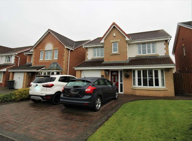 4 Bedrooms Detached House for sale in Holwick Close, Consett, Tyne and Wear, DH8