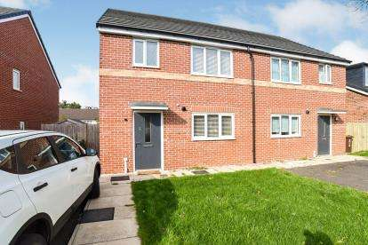 3 Bedrooms Semi Detached House for sale in Rowan Tree Road, Oldham, Greater Manchester