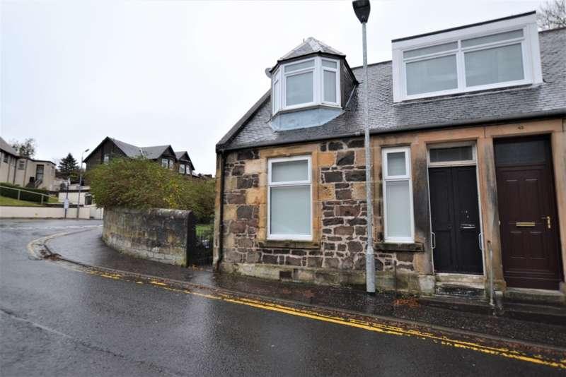 1 Bedroom Cottage House for rent in Halfway Street, West Kilbride, North Ayrshire, KA23 9EQ
