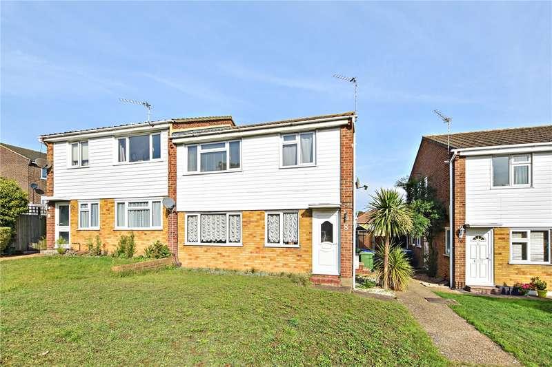 2 Bedrooms Maisonette Flat for sale in Gresham Close, Bexley, Kent, DA5