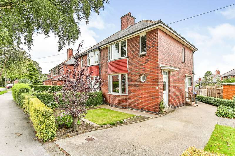 3 Bedrooms Semi Detached House for sale in Thorpe House Road, Sheffield, S8