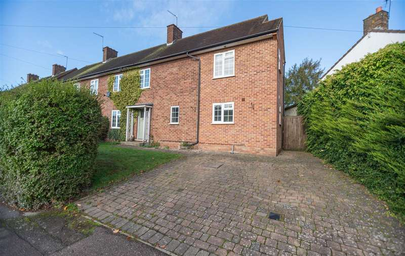 4 Bedrooms Semi Detached House for sale in Kendals Close, Radlett