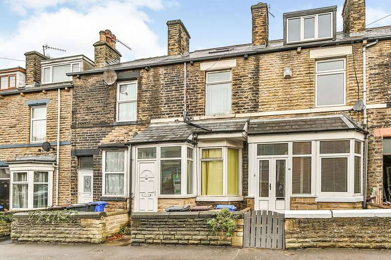 4 Bedrooms House for sale in Stafford Road, Sheffield, S2