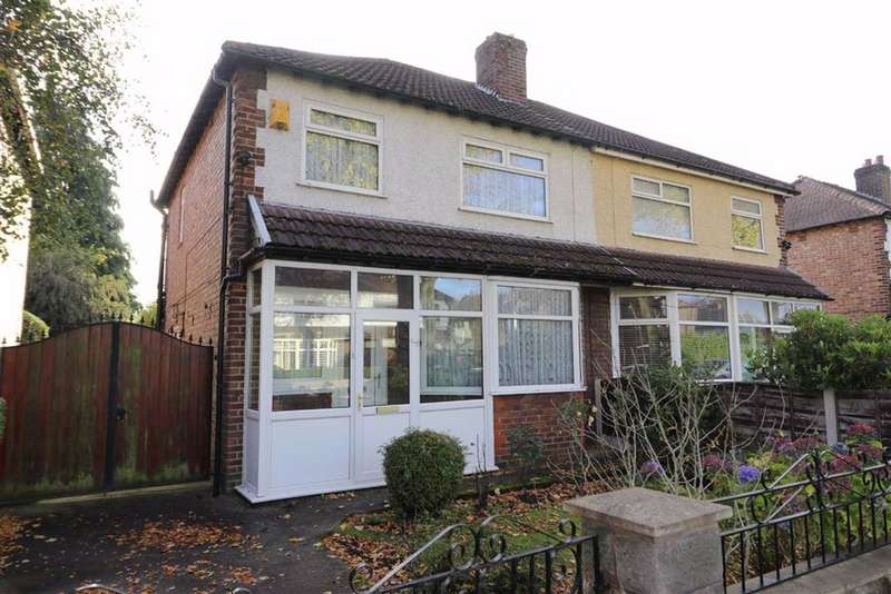 3 Bedrooms Semi Detached House for sale in Callingdon Road, Chorlton, Manchester, M21