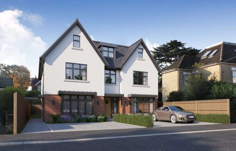 4 Bedrooms Town House for sale in Sandringham Road, Lower Parkstone