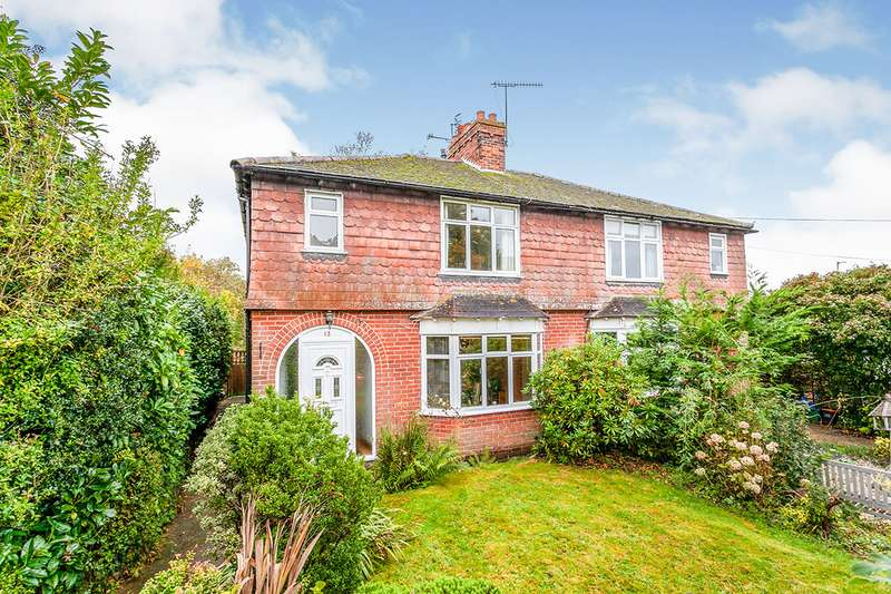 3 Bedrooms Semi Detached House for sale in Henwood Green Road, Pembury, Tunbridge Wells, Kent, TN2