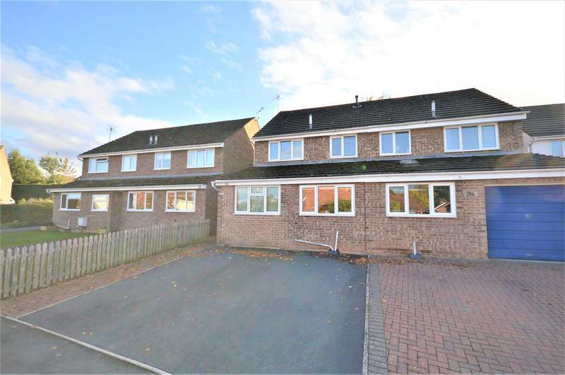3 Bedrooms Semi Detached House for sale in St. Peters Close, Moreton-On-Lugg, Hereford