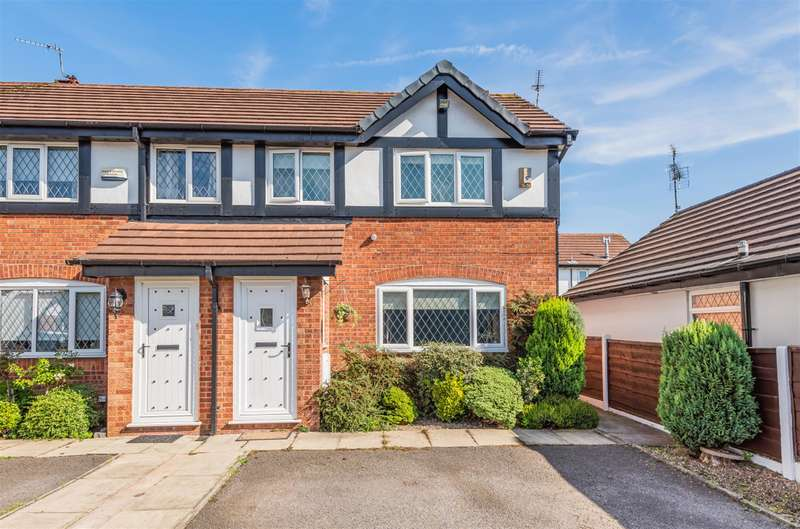 2 Bedrooms Terraced House for sale in Ridingfold Lane, Worsley, Manchester, M28 2UR