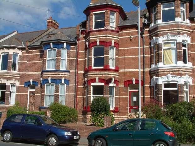 3 Bedrooms Flat for rent in 24 Polsloe Road, Exeter