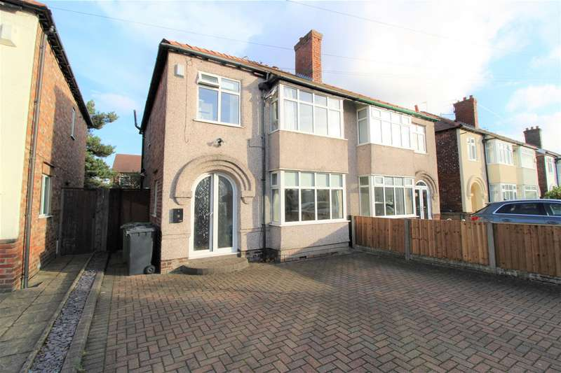 3 Bedrooms Semi Detached House for sale in Balmoral Avenue, Liverpool