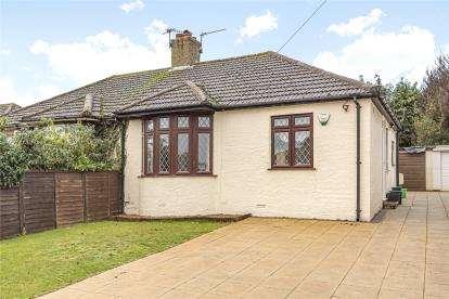 2 Bedrooms Semi Detached Bungalow for sale in Somerden Road, Orpington